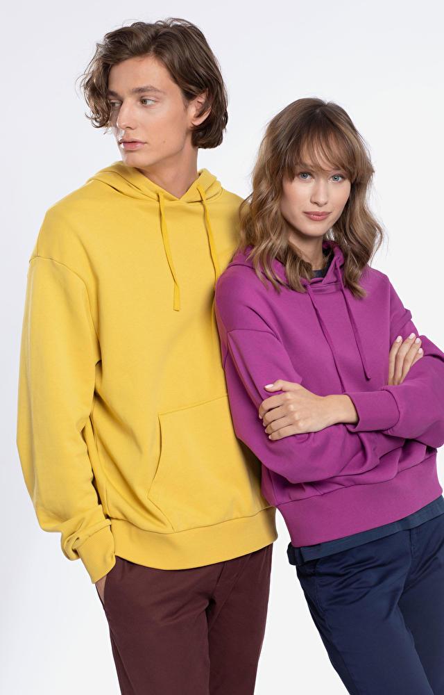 Żółta bluza męska WÓLCZANKA
