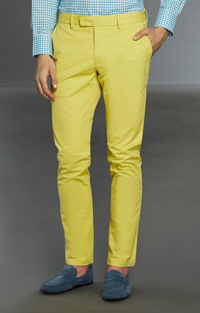 Żółte spodnie WÓLCZANKA