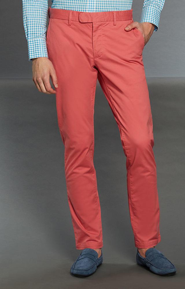 Jasno czerwone spodnie WÓLCZANKA