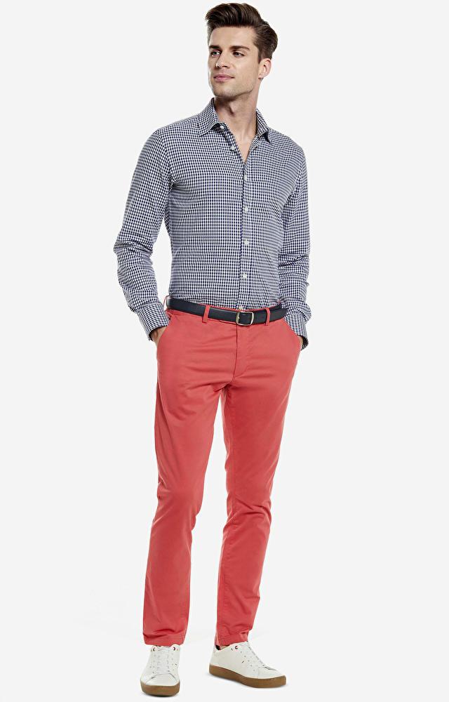 Czerwone spodnie WÓLCZANKA