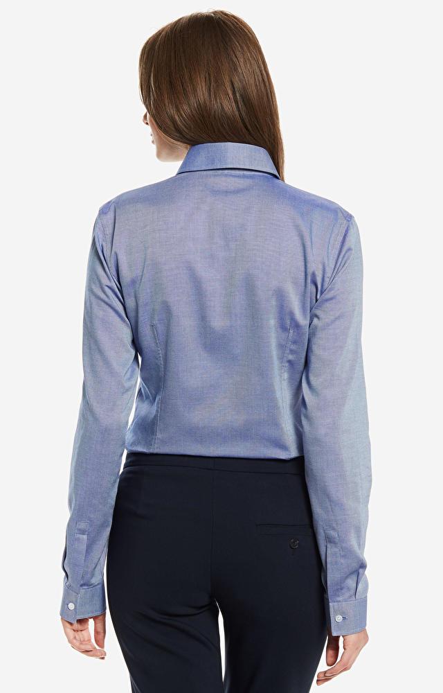 Granatowa koszula damska WÓLCZANKA