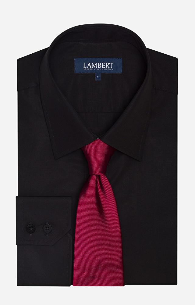 Czarna koszula LAMBERT