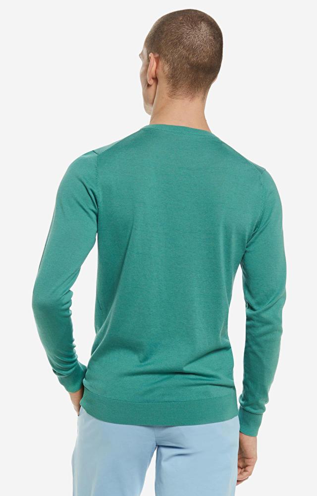 Zielony sweter LAMBERT