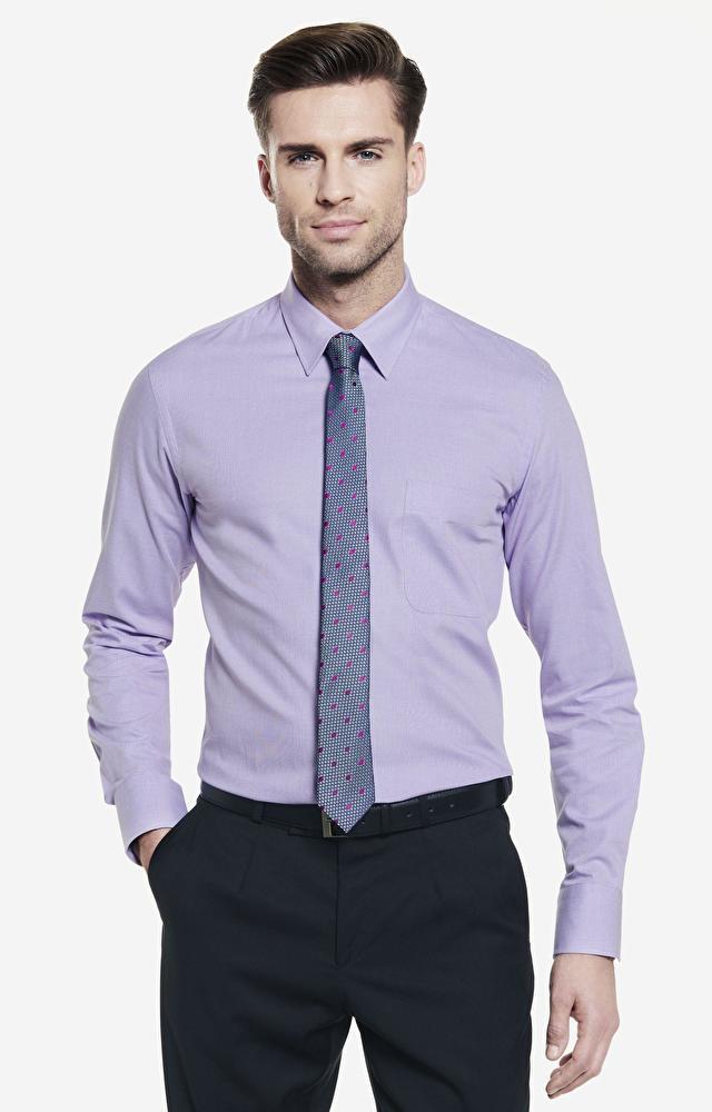 Fioletowa koszula męska WÓLCZANKA