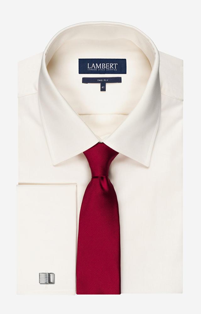 Kremowa koszula LAMBERT