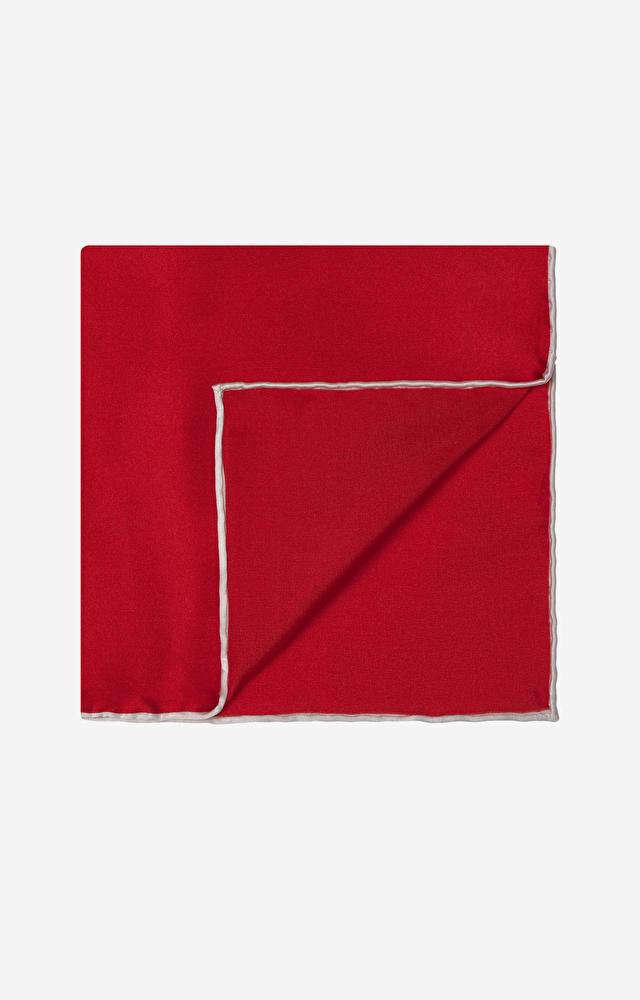 Czerwona poszetka LAMBERT