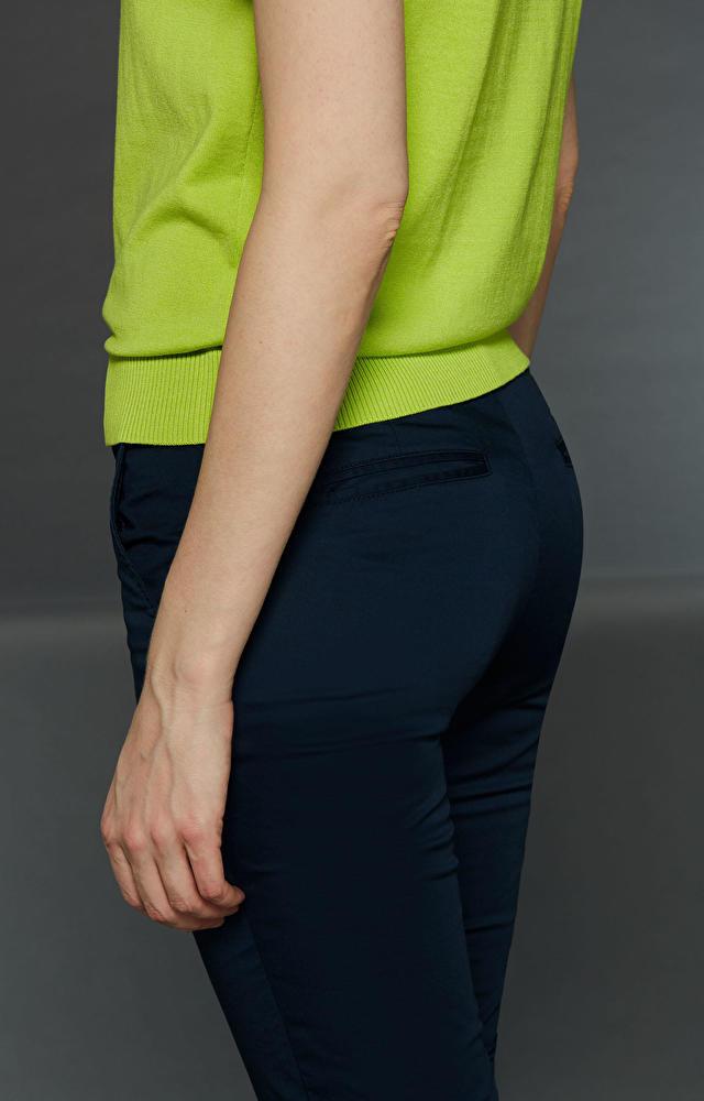 Granatowe spodnie LAMBERT