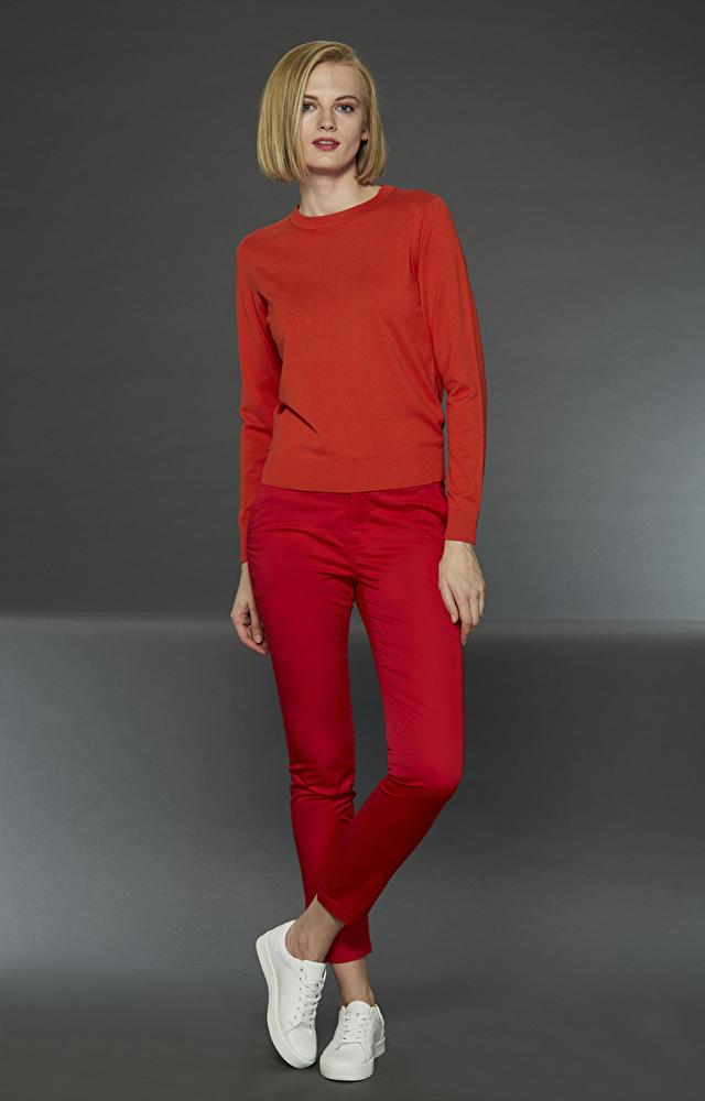Czerwone spodnie LAMBERT