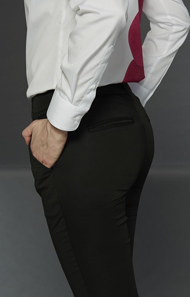 Czarne spodnie LAMBERT