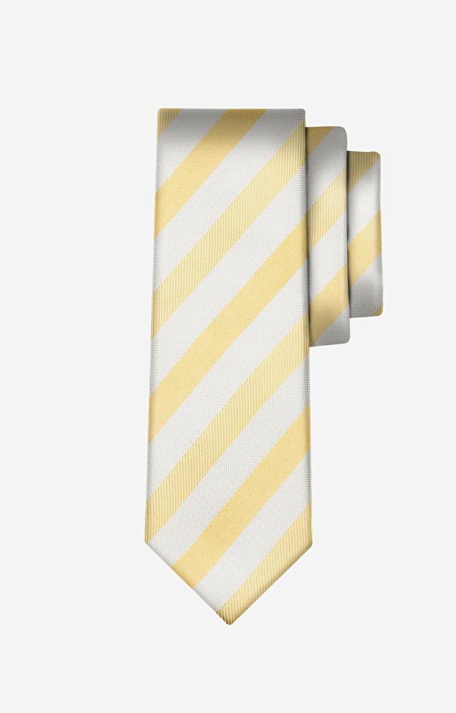 Żółty krawat WÓLCZANKA
