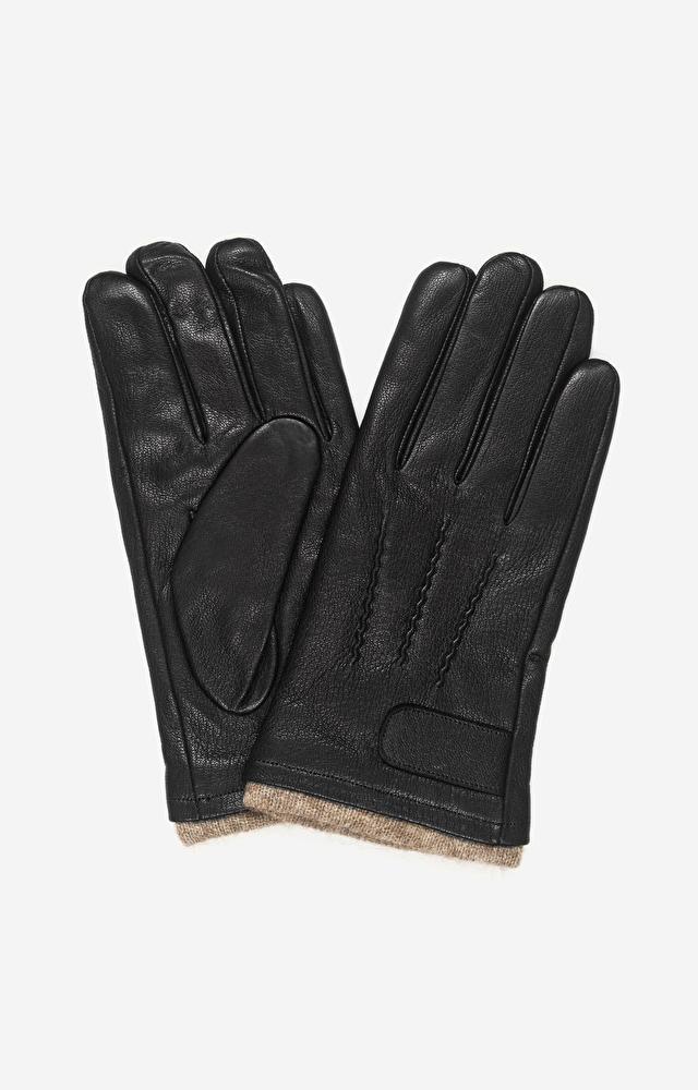 Czarne rękawiczki LAMBERT