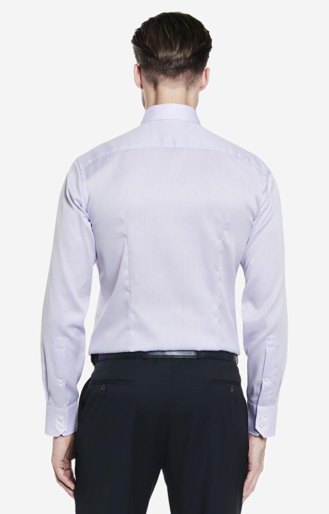 Fioletowa koszula LAMBERT
