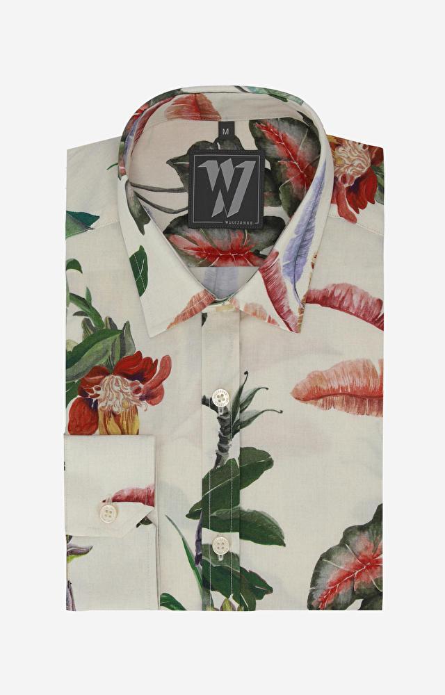 Beżowa koszula WÓLCZANKA
