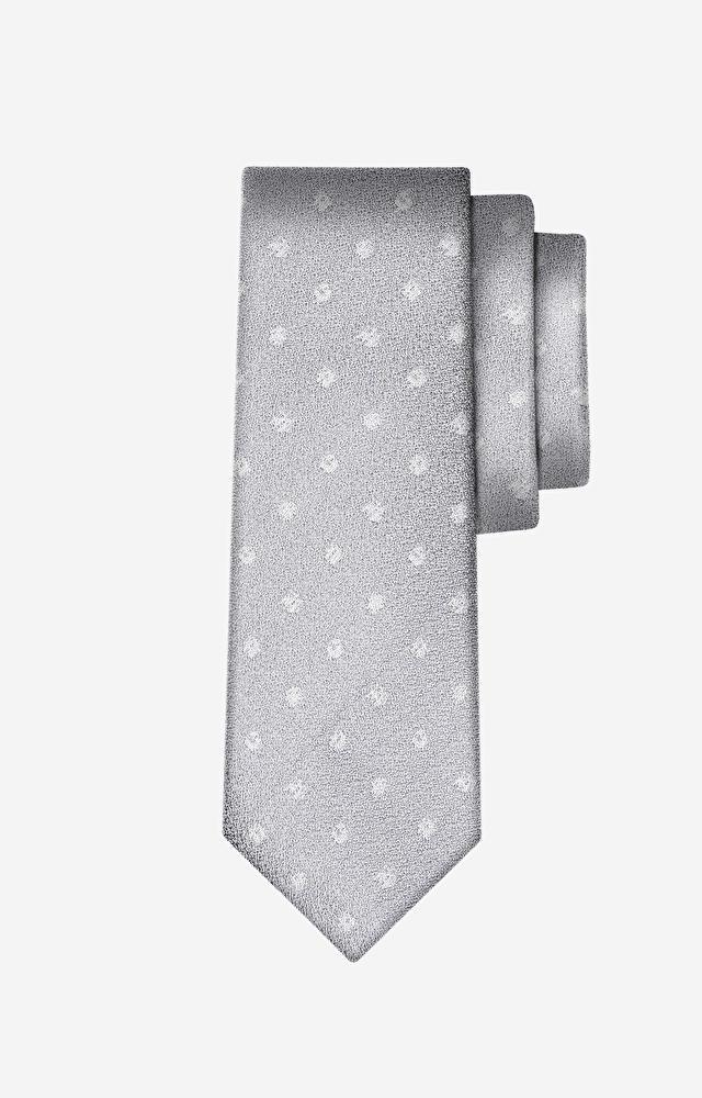 Beżowy krawat WÓLCZANKA