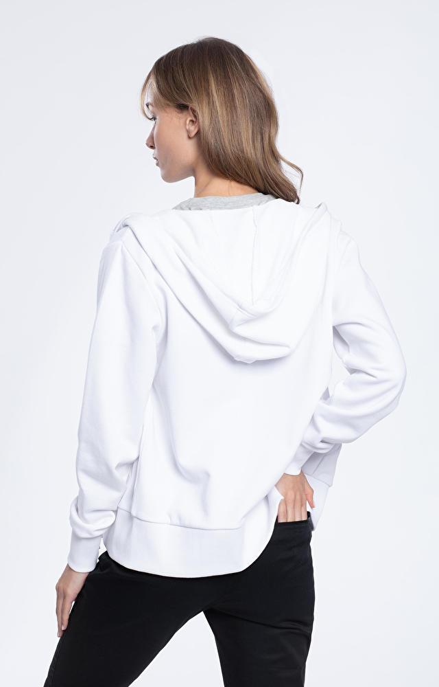 Biała bluza damska WÓLCZANKA