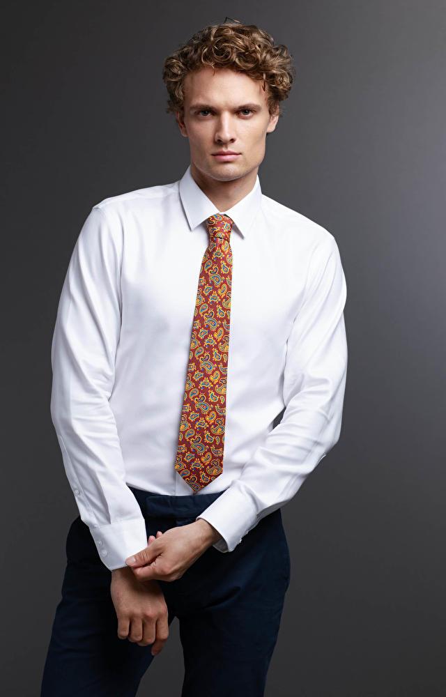 Biała koszula męska LAMBERT