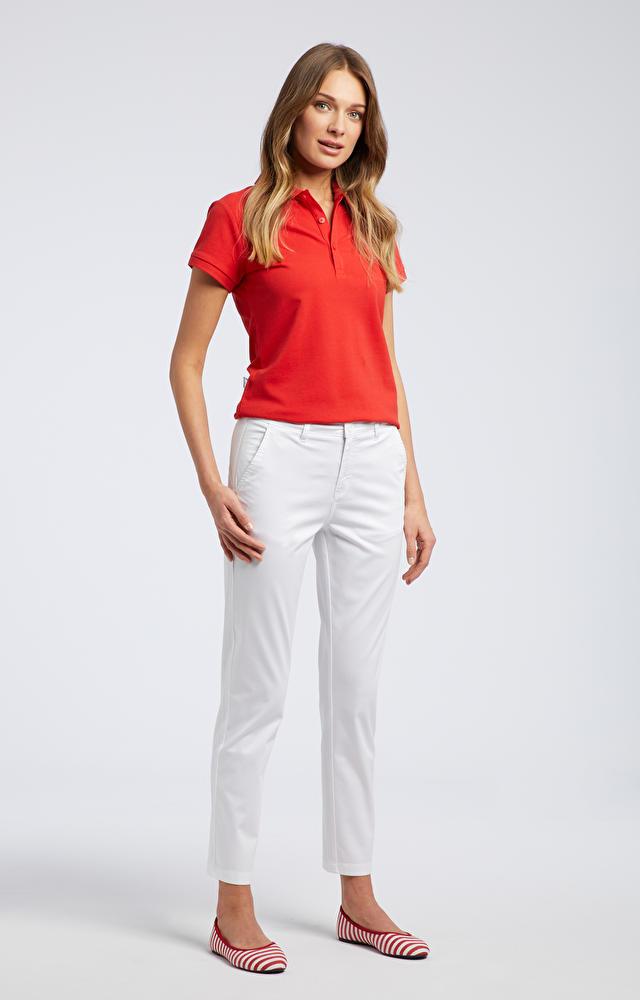 Białe spodnie damskie WÓLCZANKA