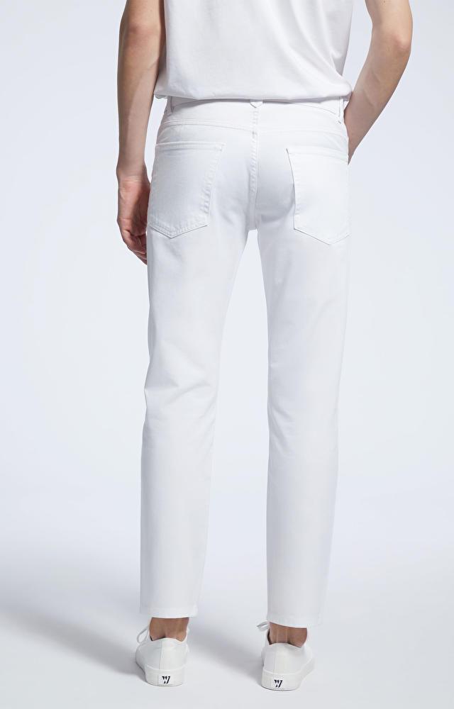 Białe spodnie WÓLCZANKA
