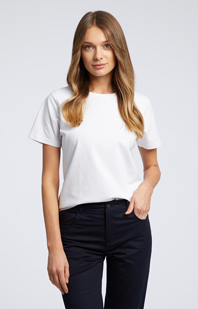 Biały t-shirt WÓLCZANKA