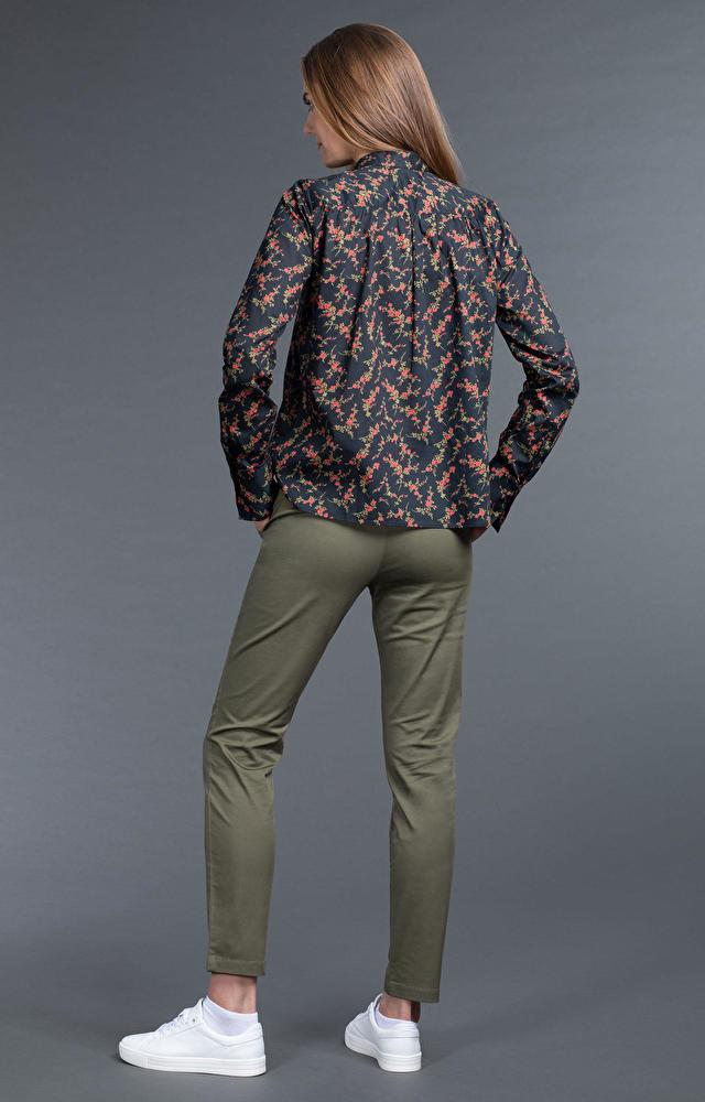 Spodnie damskie khaki WÓLCZANKA