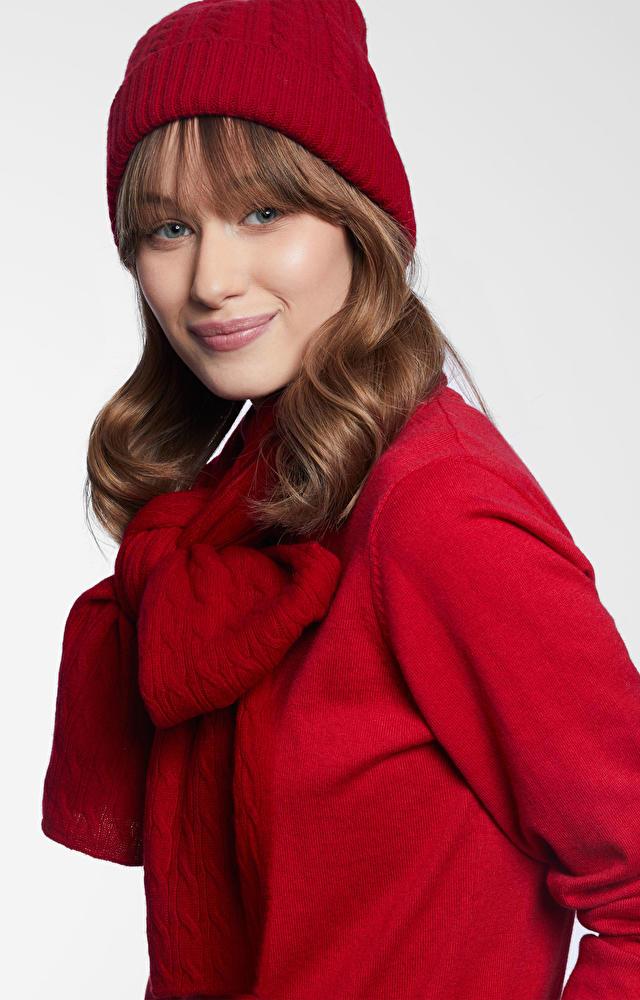 Czerwona czapka WÓLCZANKA
