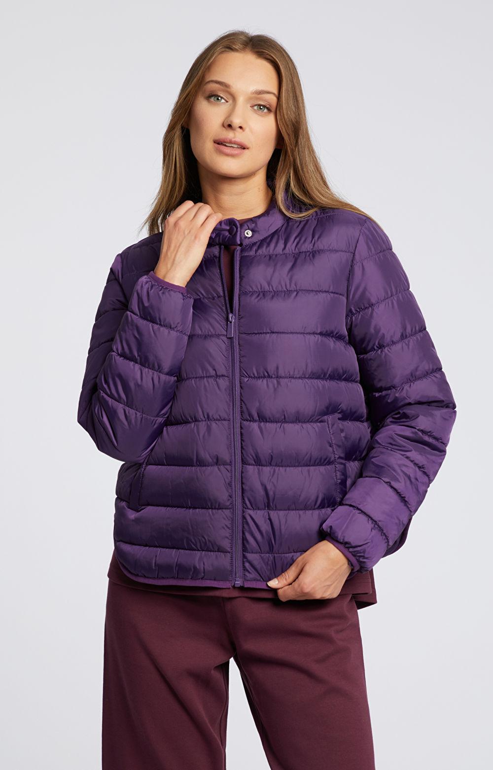 Pikowana kurtka przejściowa