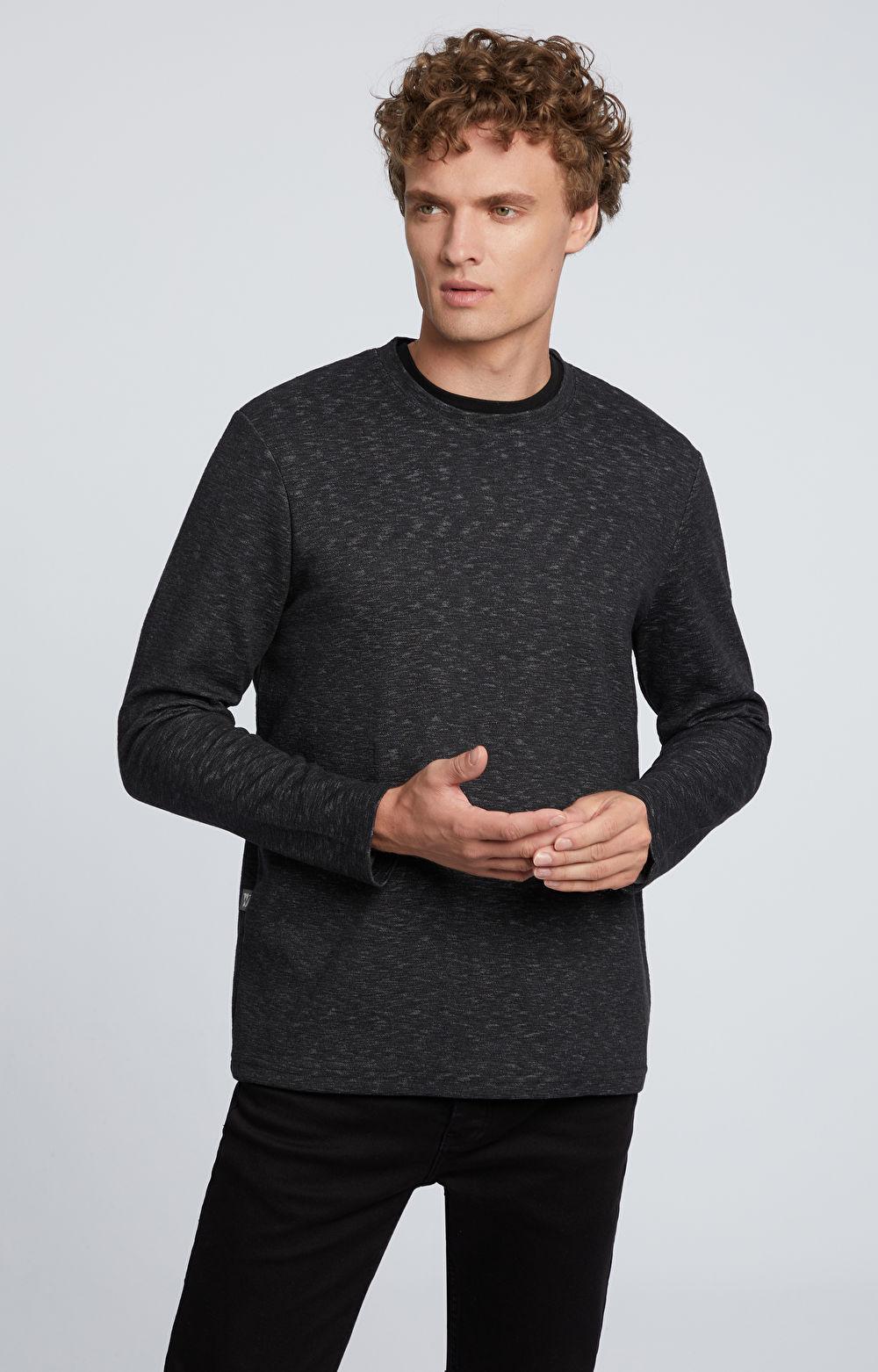 Bluza z melanżowym wzorem
