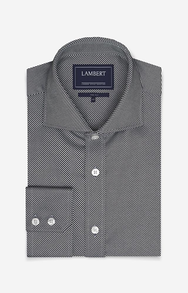 Grafitowa koszula męska LAMBERT