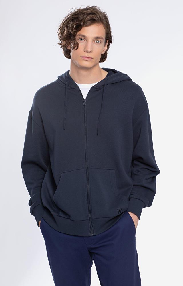 Granatowa bluza męska WÓLCZANKA