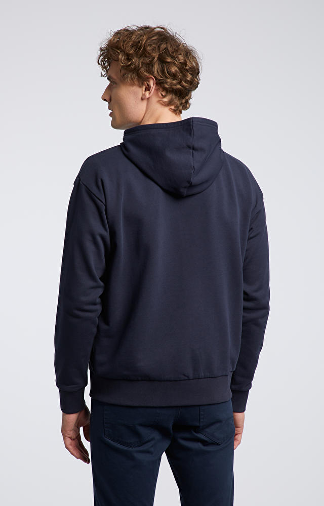 Granatowa bluza WÓLCZANKA
