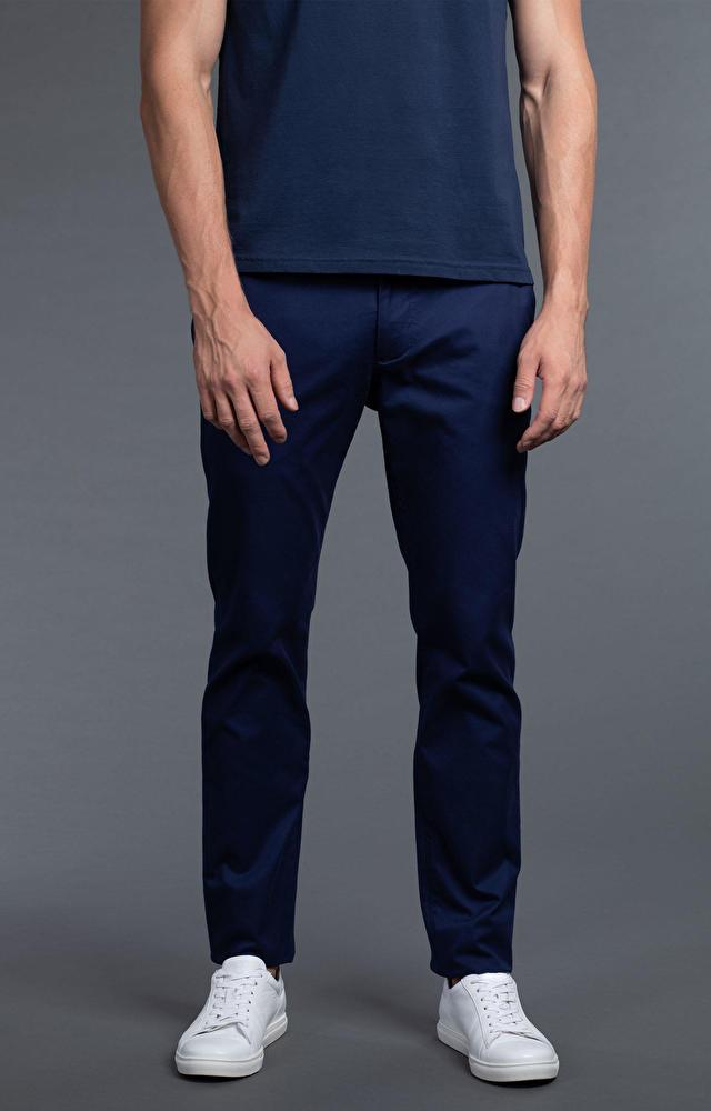 Granatowe spodnie WÓLCZANKA