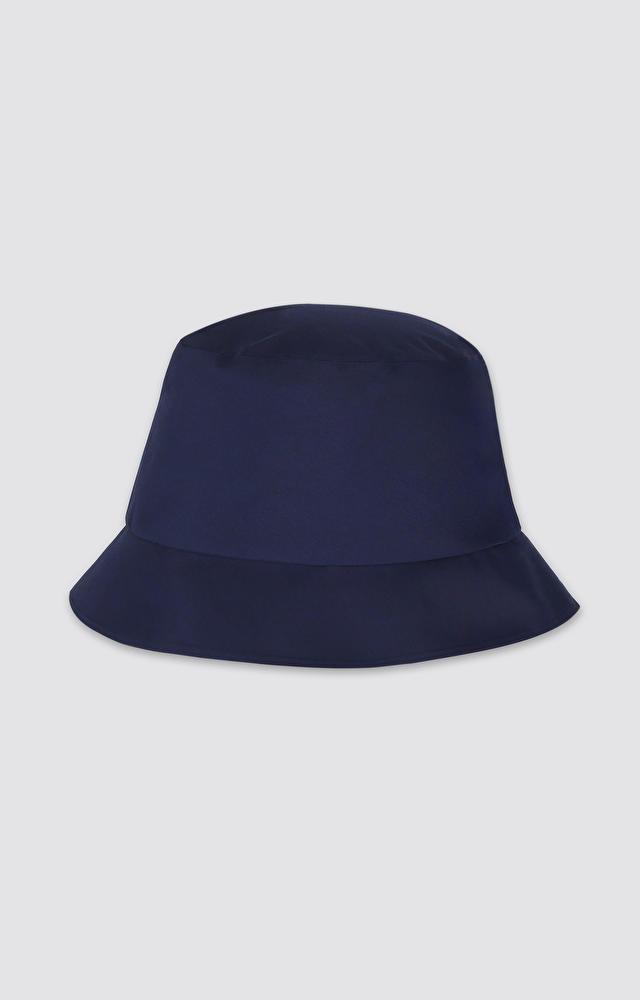 Granatowy kapelusz WÓLCZANKA