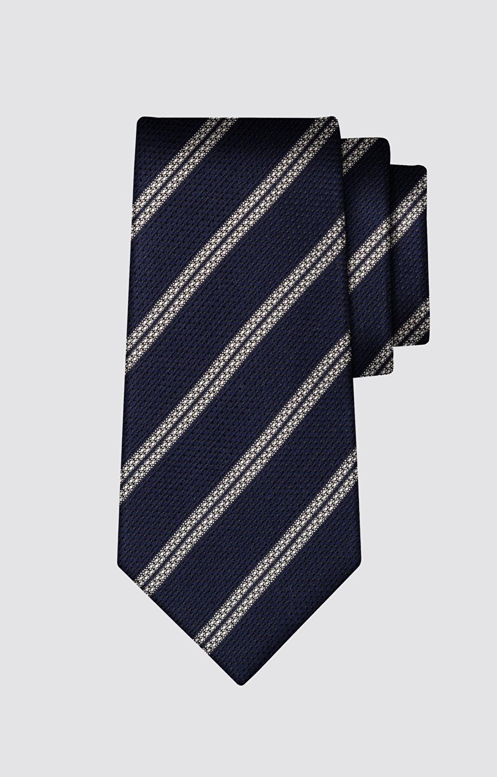 Krawat w paski LAMBERT