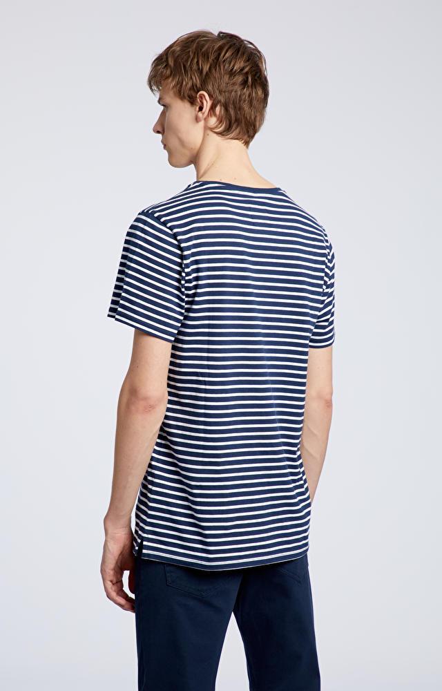 Granatowy t-shirt WÓLCZANKA