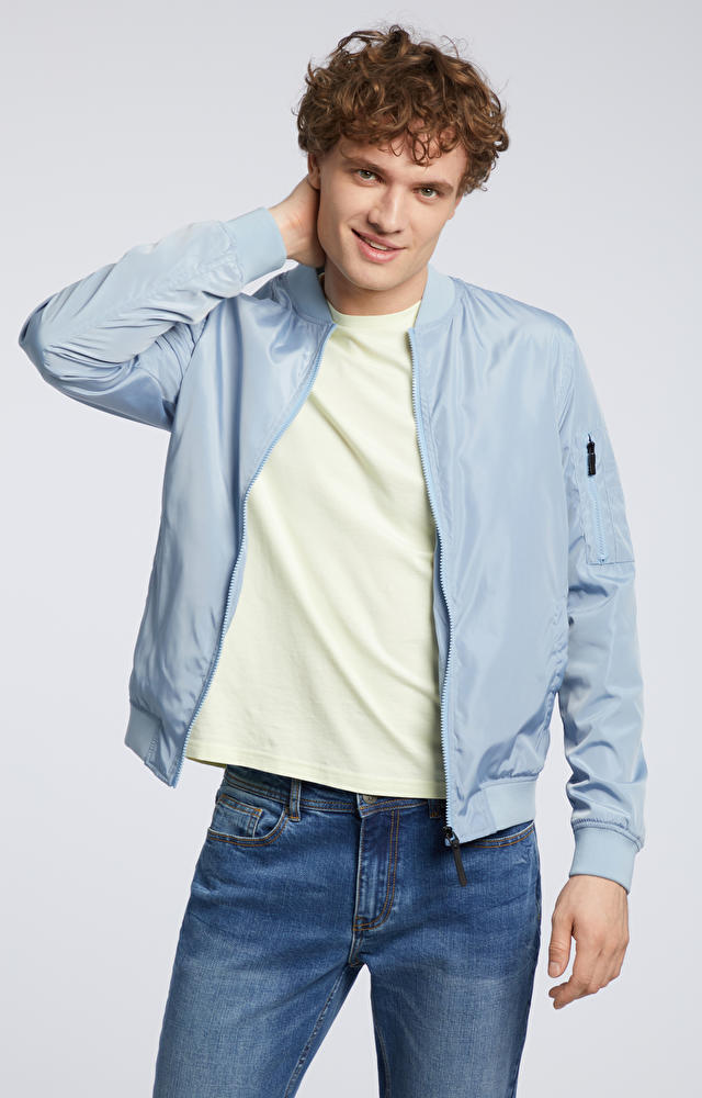 Niebieska kurtka WÓLCZANKA