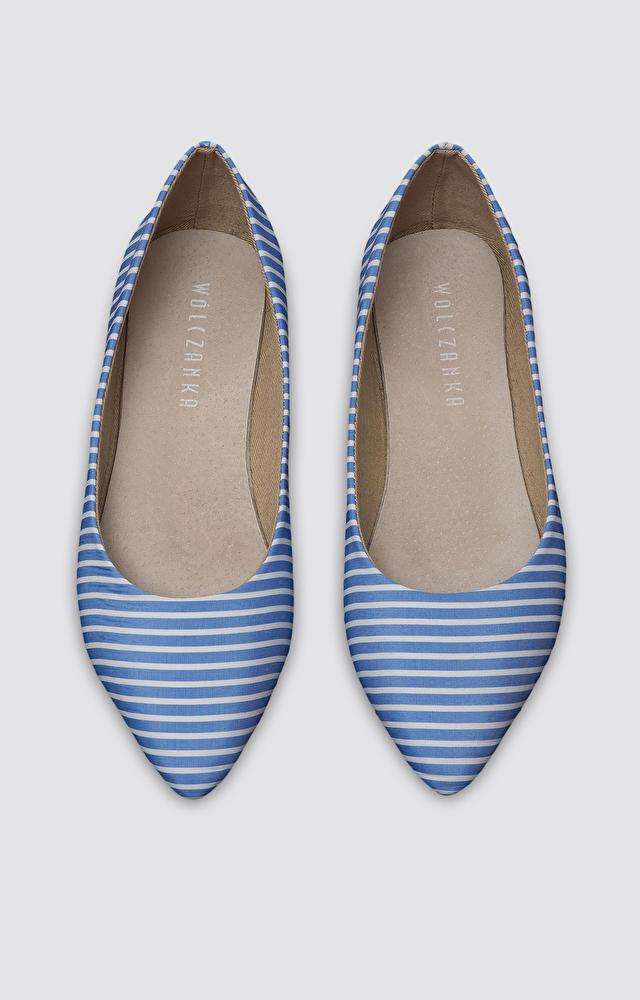 Niebieskie buty WÓLCZANKA
