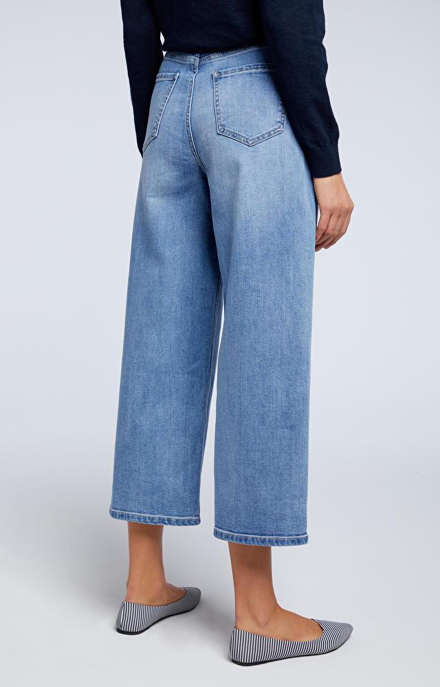 Niebieskie jeansy WÓLCZANKA