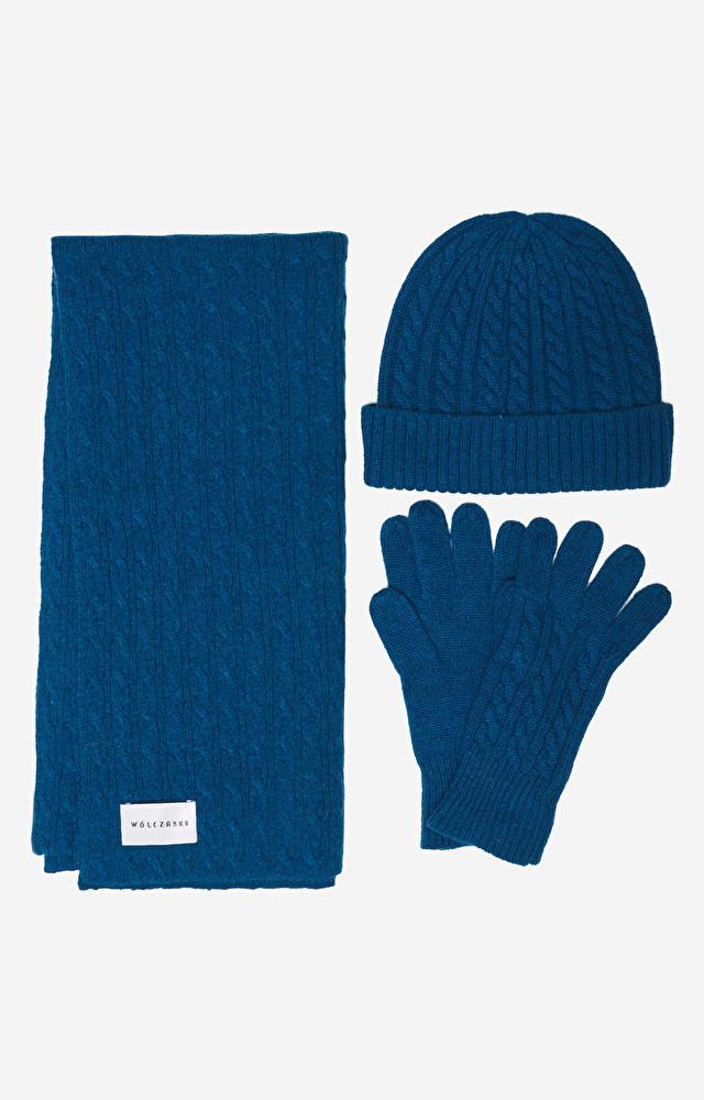 Niebieskie rękawiczki WÓLCZANKA