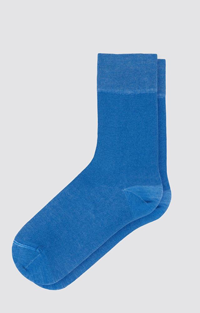 Niebieskie skarpety WÓLCZANKA
