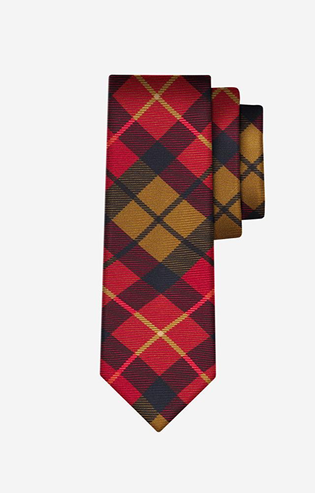 Pomarańczowy krawat LAMBERT