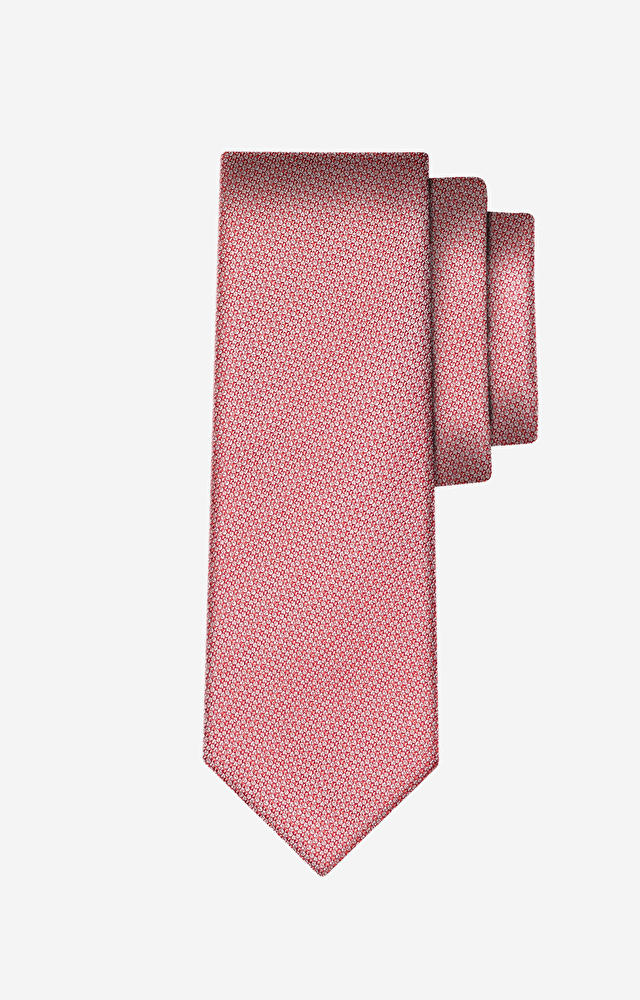 Różowy krawat WÓLCZANKA