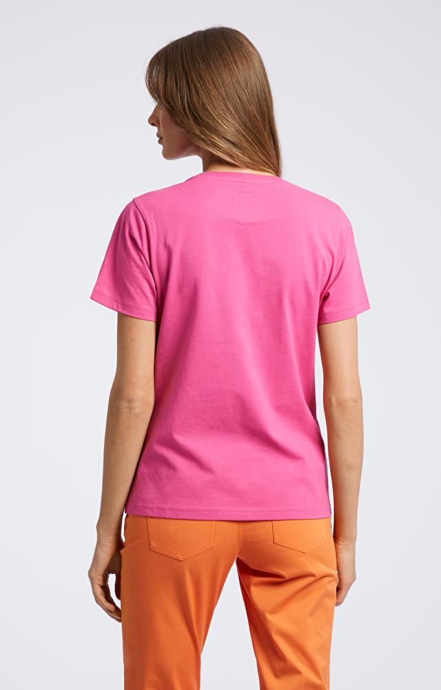Różowy t-shirt WÓLCZANKA
