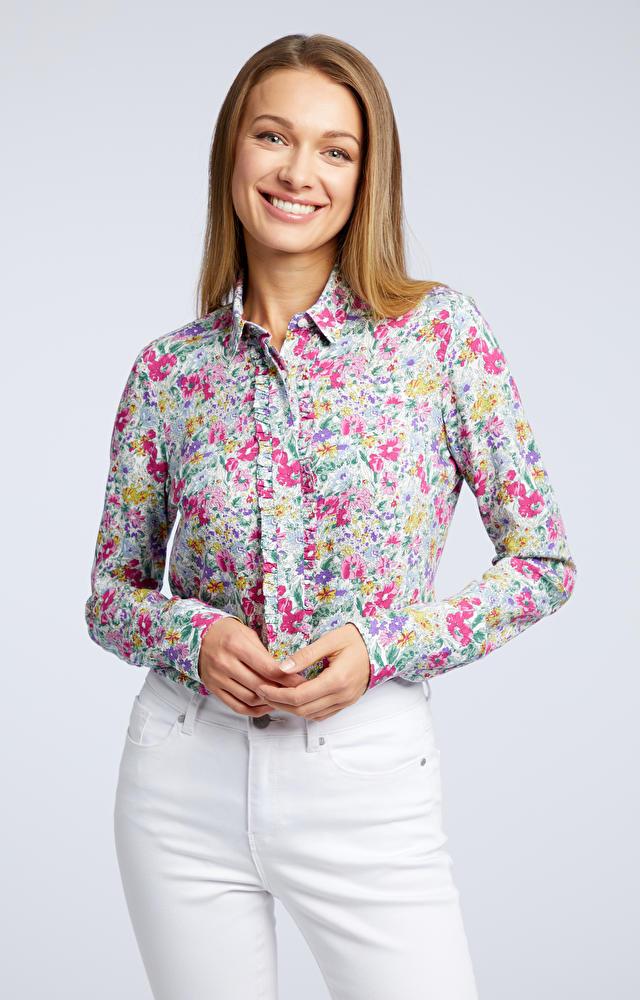 Wielokolorowa koszula damska WÓLCZANKA