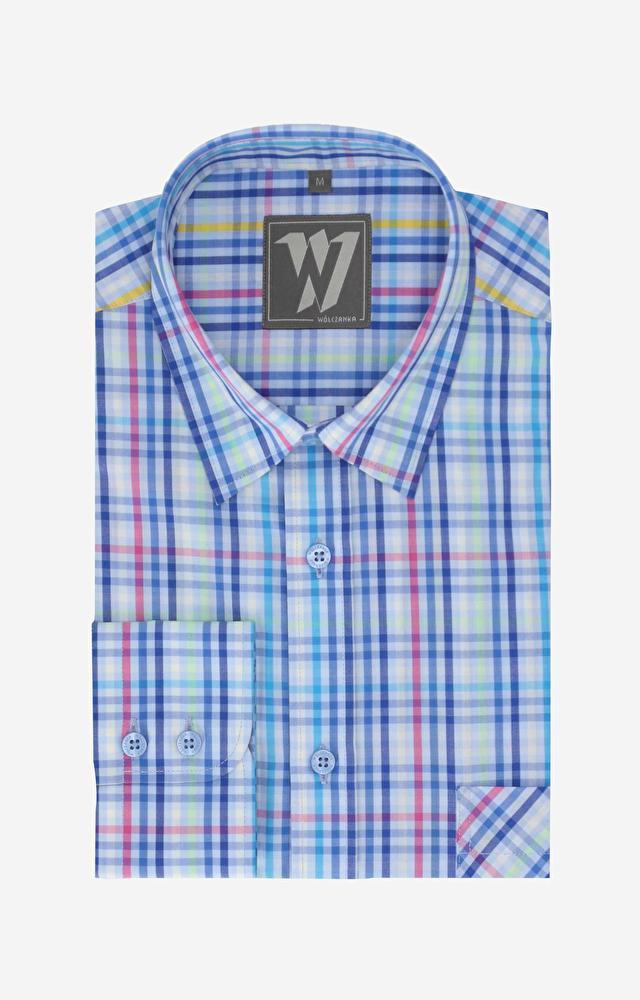 Wielokolorowa koszula WÓLCZANKA