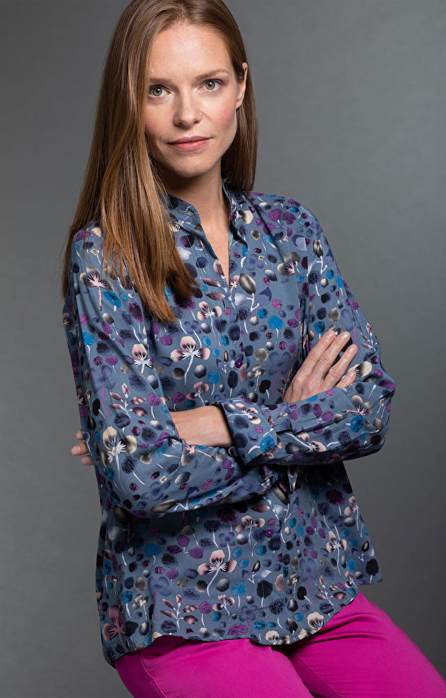 Szara koszula damska WÓLCZANKA