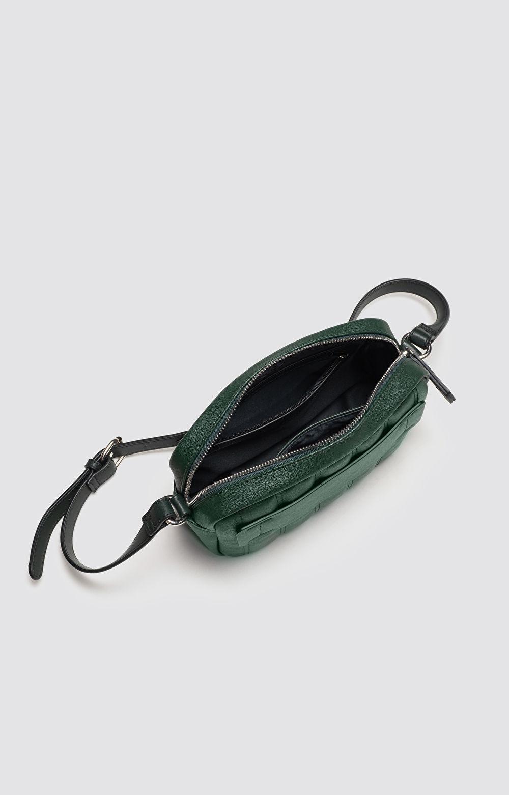 Mała pikowana torebka