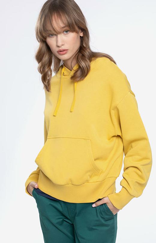 Żółta bluza damska WÓLCZANKA