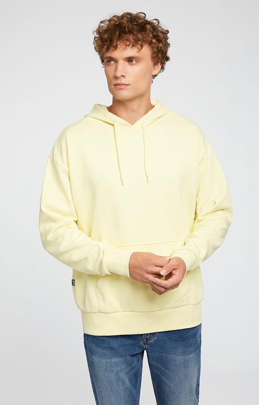 Żółta bluza WÓLCZANKA
