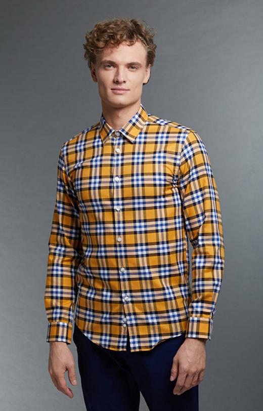 Żółta koszula WÓLCZANKA