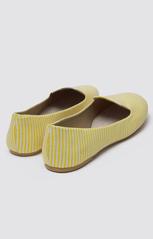 Żółte buty WÓLCZANKA